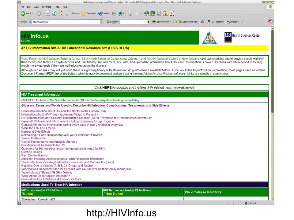 http://HIVInfo.us