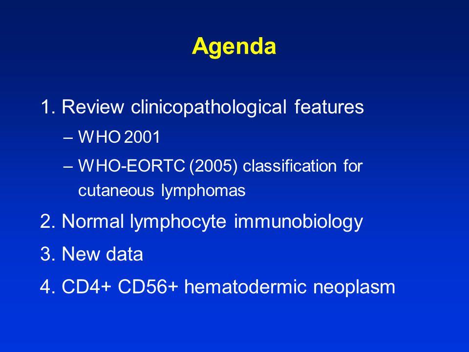 Extranodal NK/T-cell lymphoma, nasal type r NKR expression –CD94/NKG2A+ majority CD94 mRNA +ve ?.