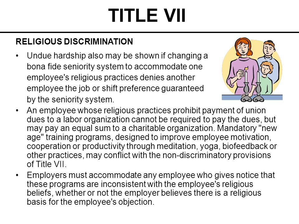 TITLE VII Immigration Related Practices Which May Be Discriminatory (National Origin Discrimination) The Immigration Reform and Control Act of 1986 (IRCA) requires employers to prove all employees hired after November 6, 1986, are legally authorized to work in the United States.