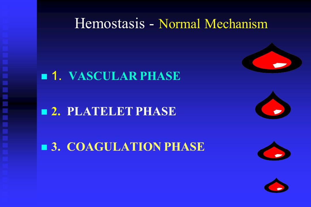 VASCULAR PHASE When a blood vessel is damaged, When a blood vessel is damaged, vasoconstriction results.
