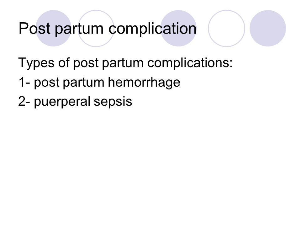 post partum hemorrhage Postpartum hemorrhage is a significant cause of maternal morbidity and mortality.