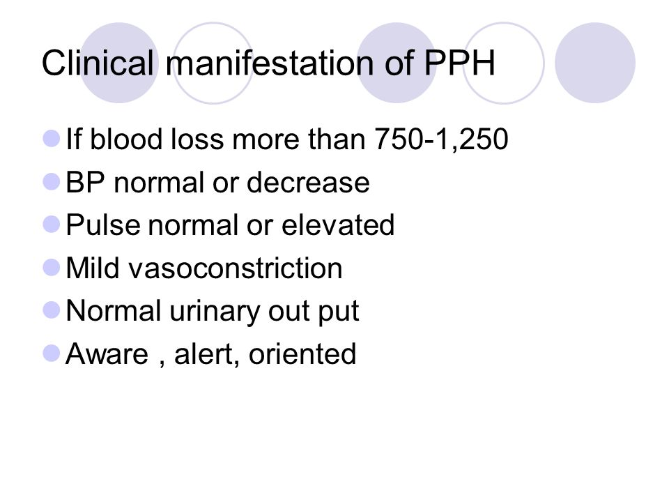 Nursing management Assess pt Identify risk group: Vital sign State of the uterus Natural of bleeding S&S of blood loss compare laboratory report