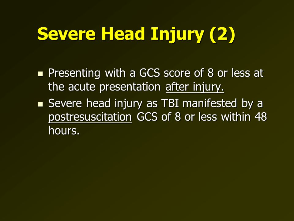 Initial resuscitation of patient with severe head injury J Neurotrauma 17:465, 2000.