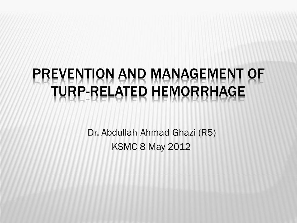 Dr. Abdullah Ahmad Ghazi (R5) KSMC 8 May 2012
