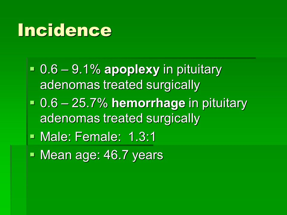 Treatment  Management focused on two aspects: i.Endocrinopathy i.