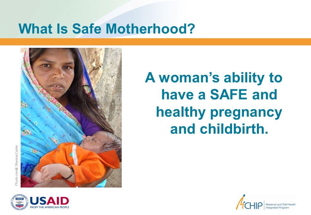 Where is Motherhood Less Safe? Source: worldmapper.org World Political Map