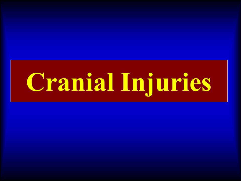 Cranial Injuries