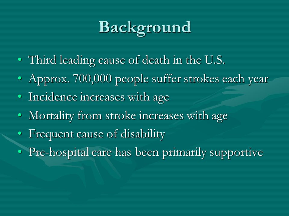Scenario 1 examined There are many causes of dizziness that are not stroke-related.