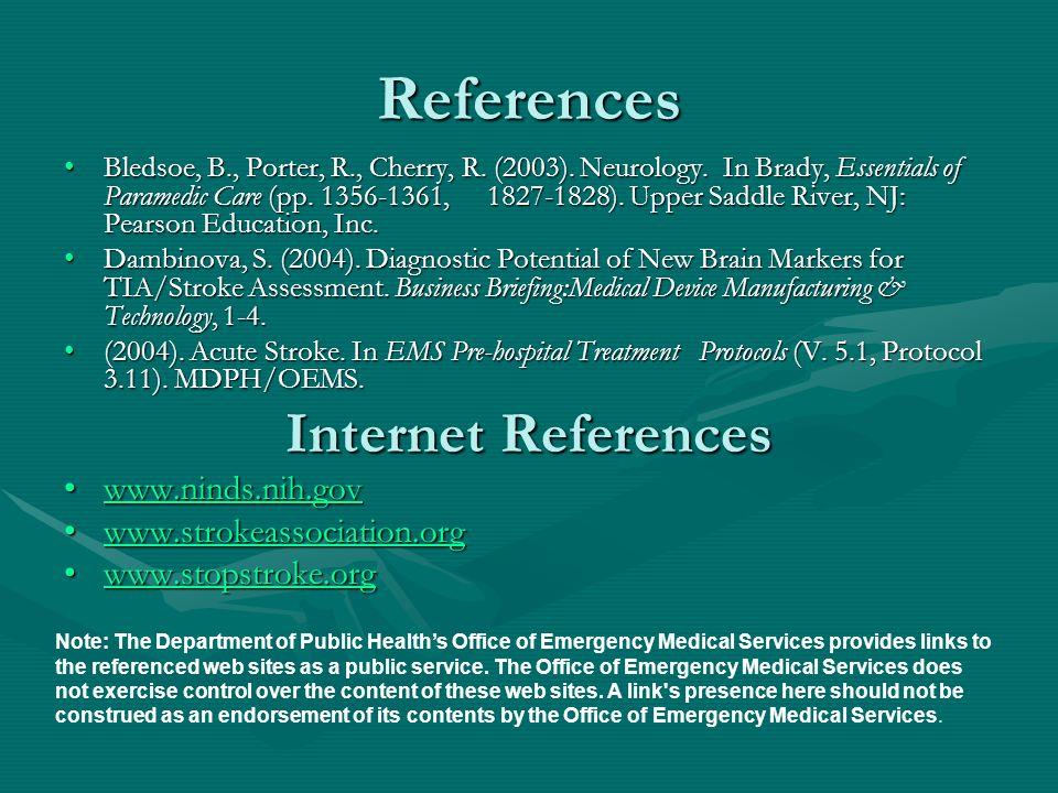 References Bledsoe, B., Porter, R., Cherry, R. (2003).