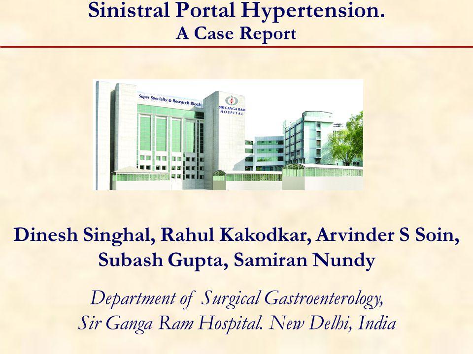 Sinistral Portal Hypertension.
