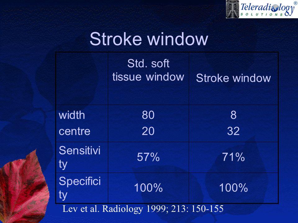 Stroke window Std.