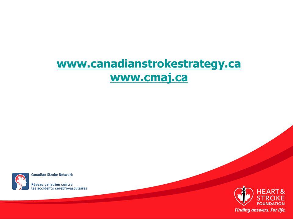 www.canadianstrokestrategy.ca www.cmaj.ca