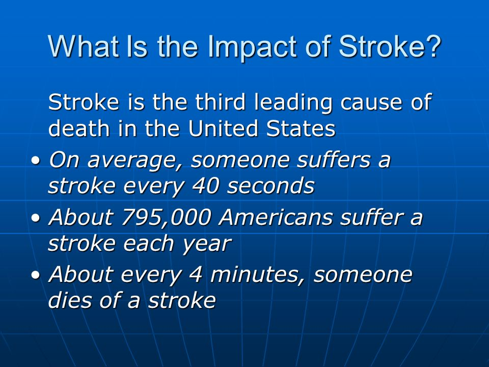 What Is the Impact of Stroke.