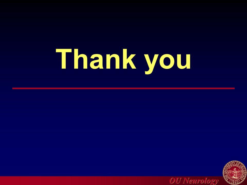 OU Neurology Thank you