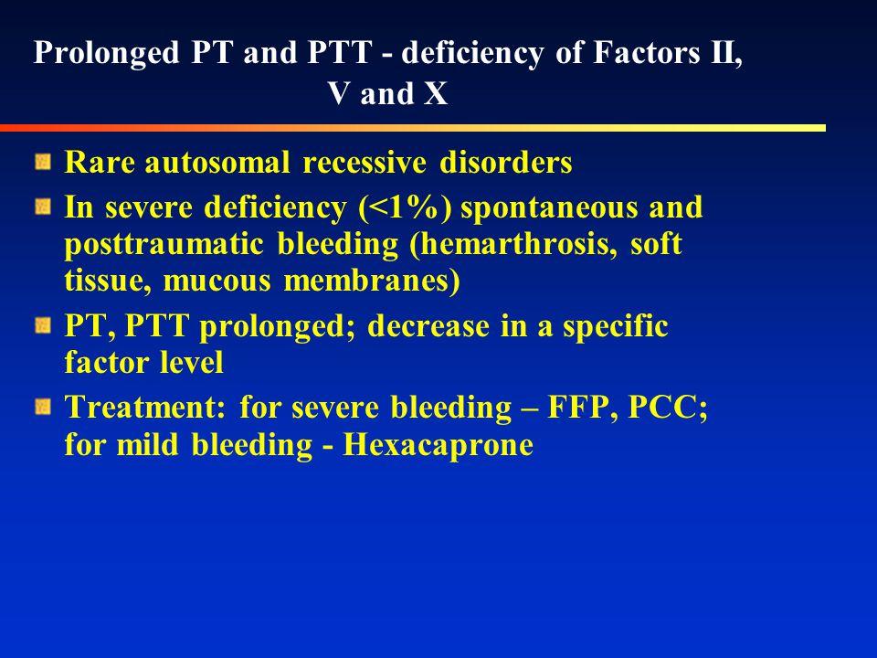 Common pathway abnormalities