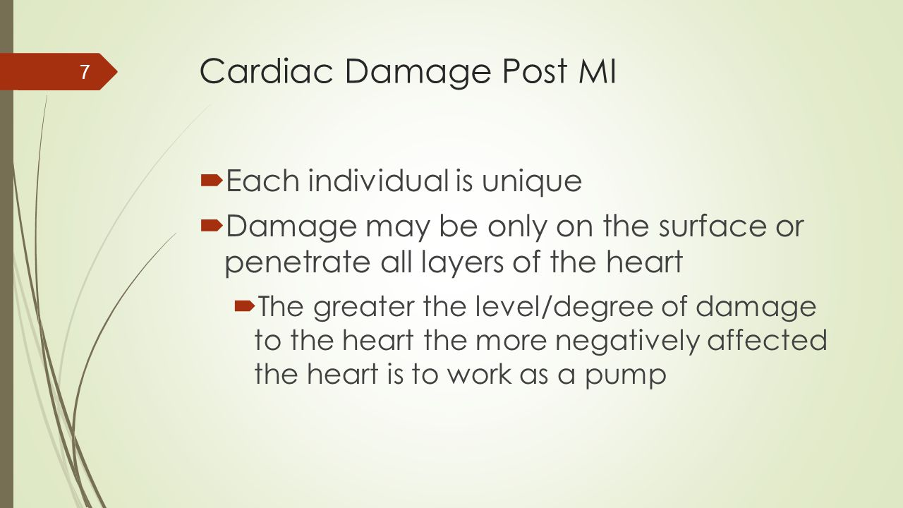 Case Scenario #3  If an EKG is normal (i.e.: lacks ST elevation), does this mean the patient for sure is not having an acute MI.
