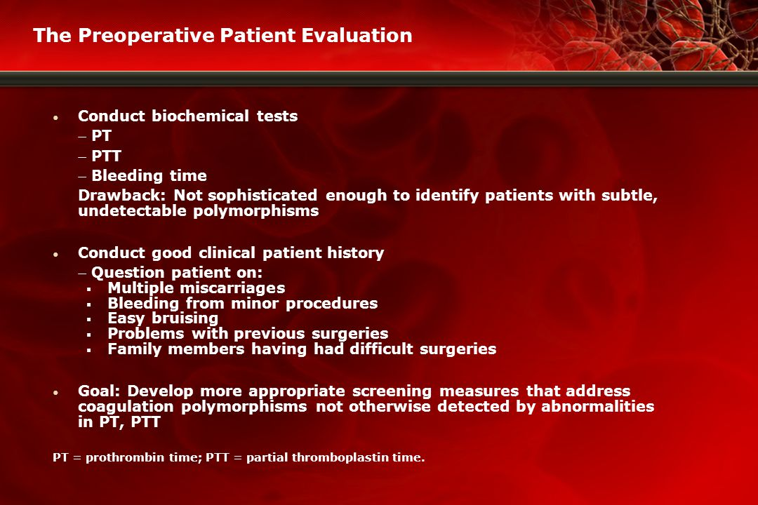 Thank you for participating in today's program www.bloodcmecenter.org Your source for CE/CME educational programs on operative hemostasis and transfusion medicine, including uniquely progressive learning designed for each clinical discipline