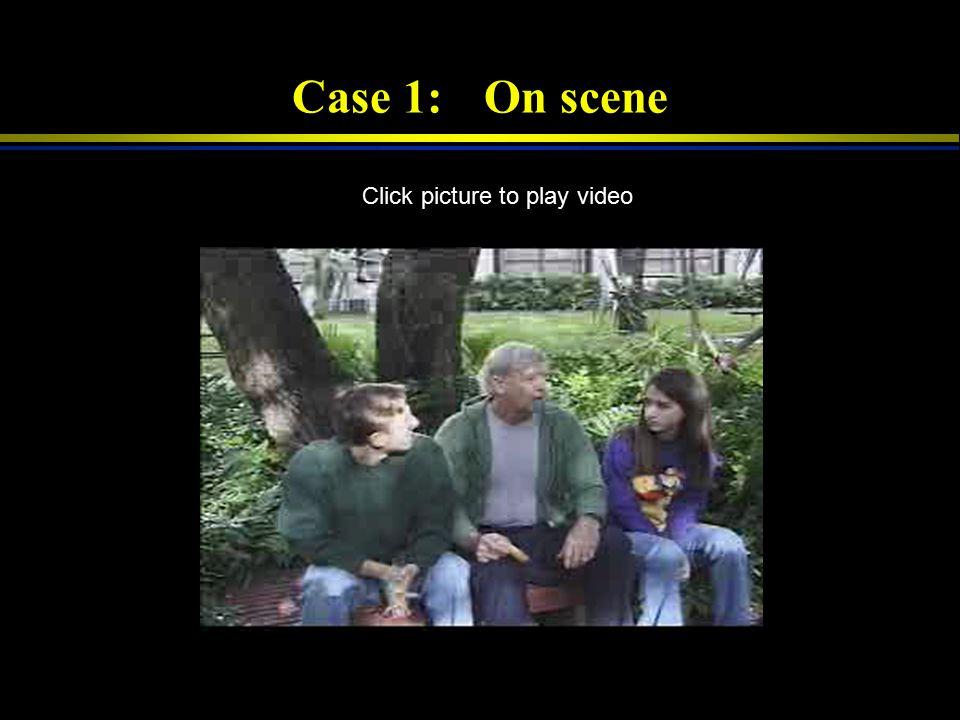 Case-Based Prehospital Scenarios