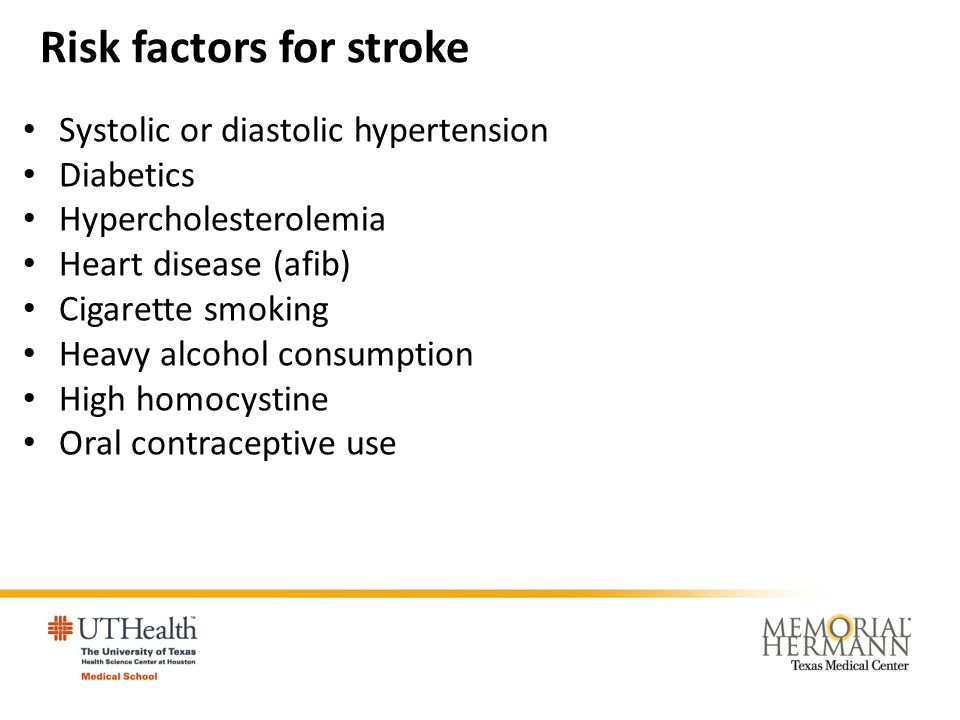 The major types of cerebrovascular disease Cerebral ischemia and infarction Transient Ischemic Attacks Atherosclerotic thrombosis Lacunes Embolism Hemorrhage Hypertensive hemorrhage Ruptured aneurysms and vascular malformations Other