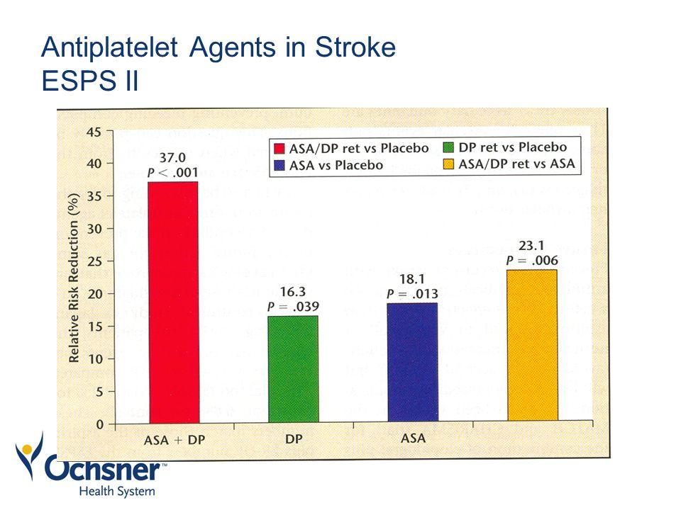Antiplatelet Agents in Stroke ESPS II