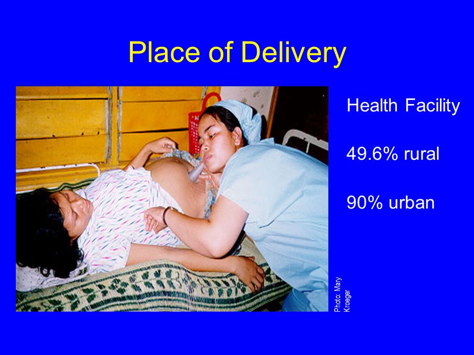 Severe Anemia 47% of maternal deaths in Viet Nam are due to hemorrhage Severe anemia is an underlying factor, making the consequences of hemorrhage more serious Iron and folate help to prevent anemia