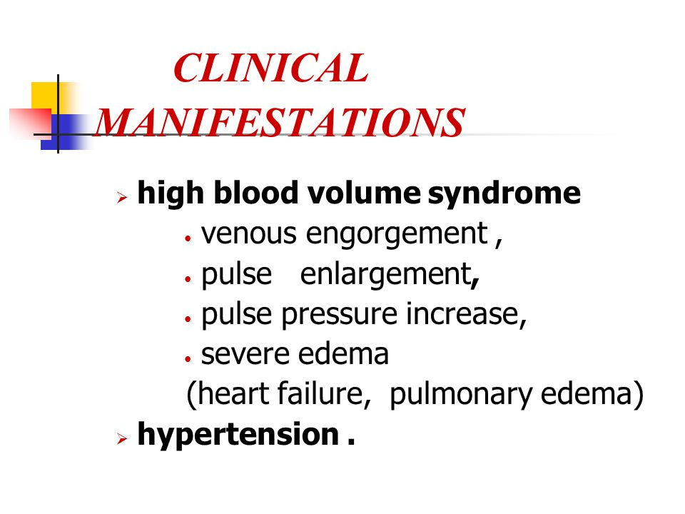 CLINICAL MANIFESTATIONS  metabolic acidosis :  disturbance of water and electrolyte balance: hyperkalemia, hyponatremia, exudative edema : chemosis,