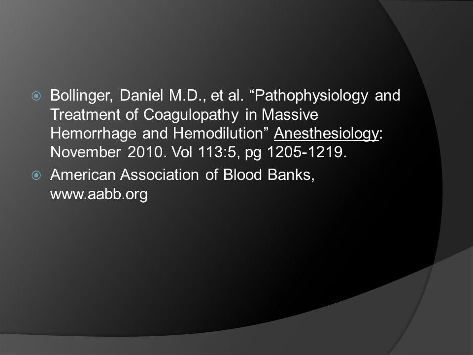  Bollinger, Daniel M.D., et al.