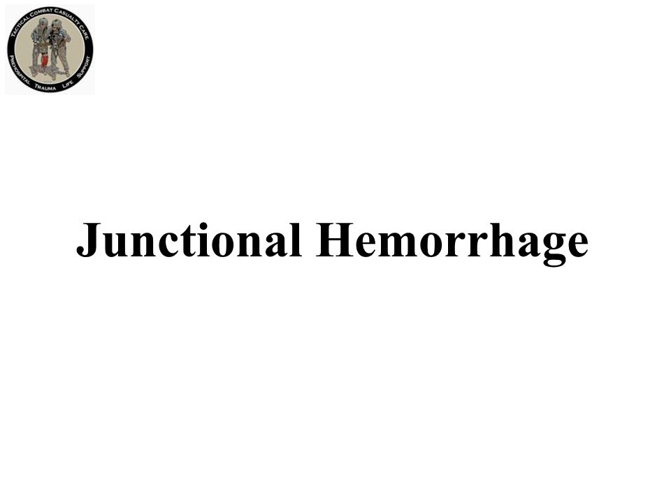 Junctional Hemorrhage