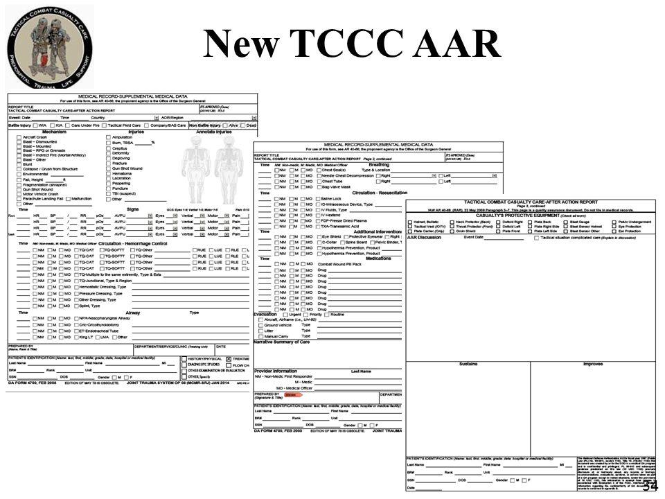New TCCC AAR 34