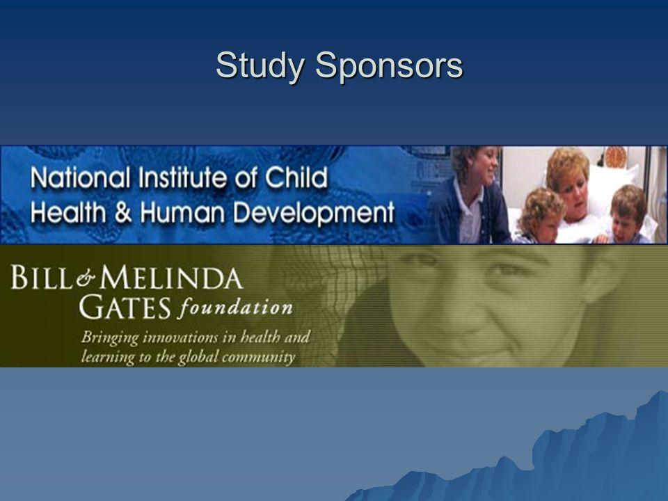 Study Sponsors