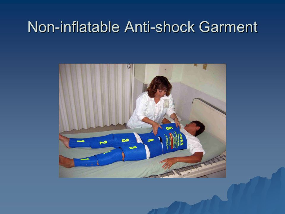 Non-inflatable Anti-shock Garment