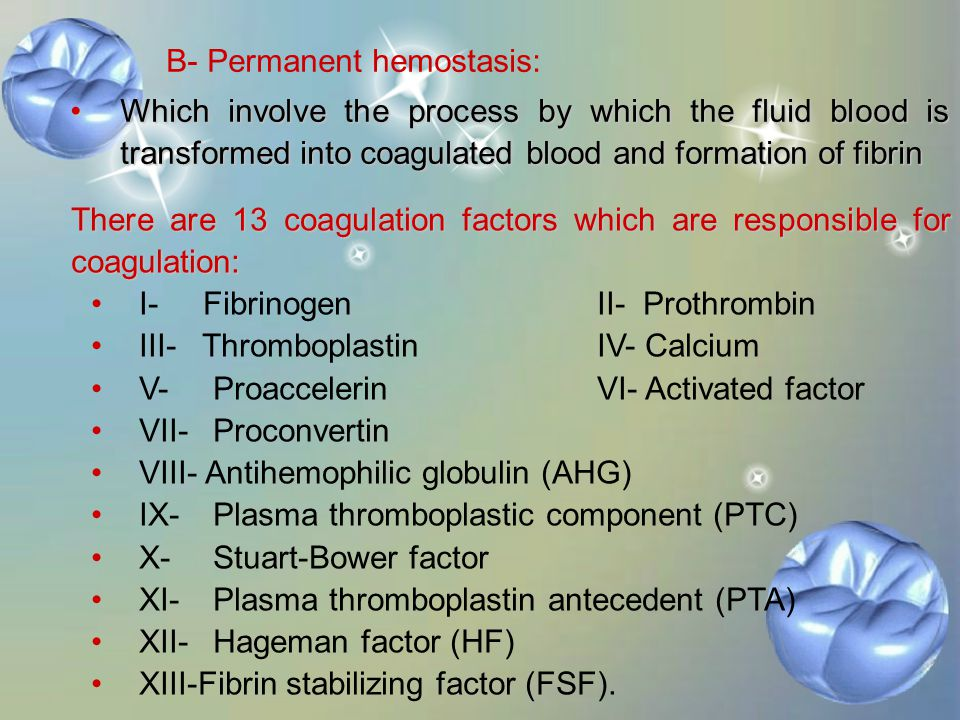 Mechanism of coagulation: in case of injured B.V. A- Primary hemostasis: It has 3 phases: Vasoconstriction of the injured vessel to reduce the blood f