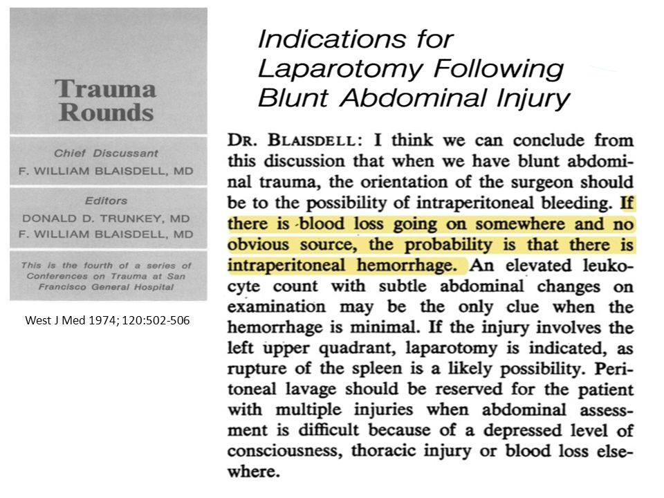 Clinical Problems in Abdominal Trauma 1.Intra-peritoneal Hemorrhage 2.Associated Injuries … POLYTRAUMA .