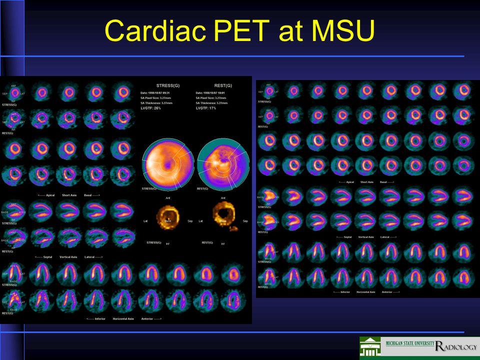Cardiac PET at MSU