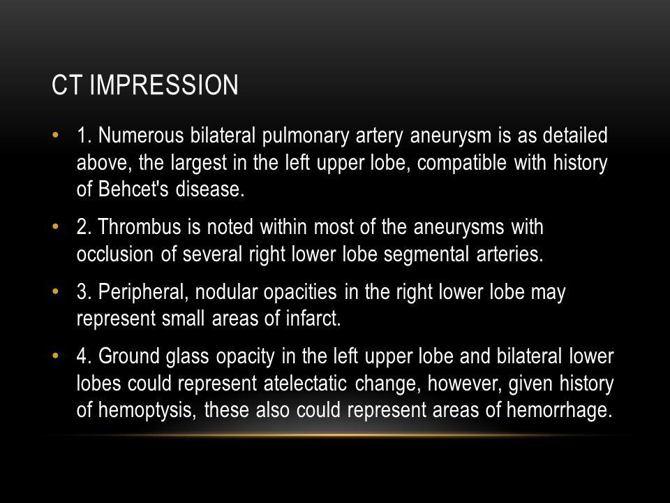 CT IMPRESSION 1.