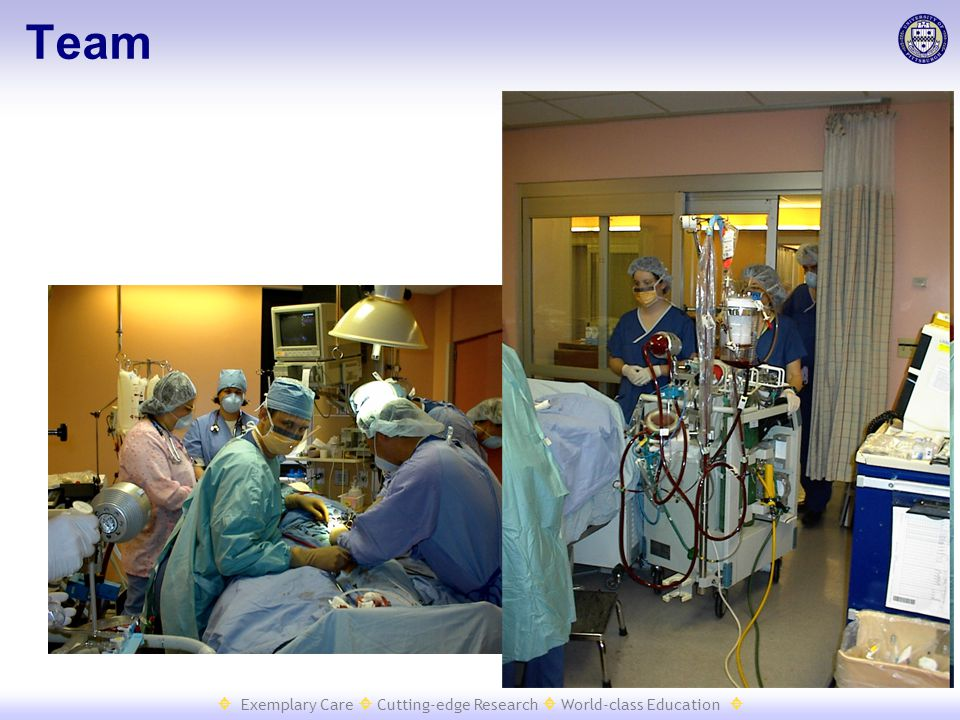  Exemplary Care  Cutting-edge Research  World-class Education  Team
