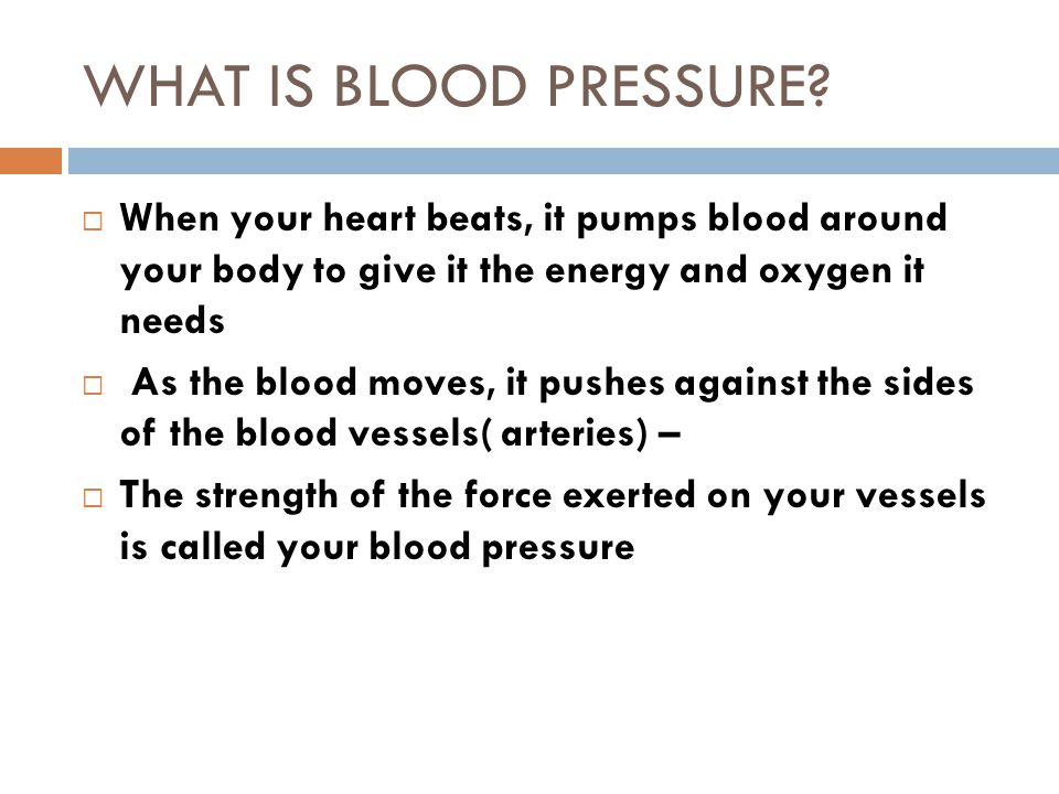 Blood Pressure Procedure Two techniques for obtaining the pressure TECHNIQUE #1  Find radial pulse.