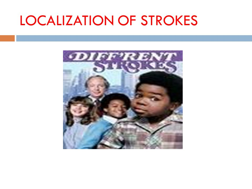 LOCALIZATION OF STROKES