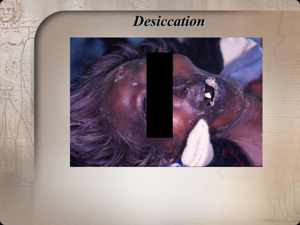 Desiccation Desiccation