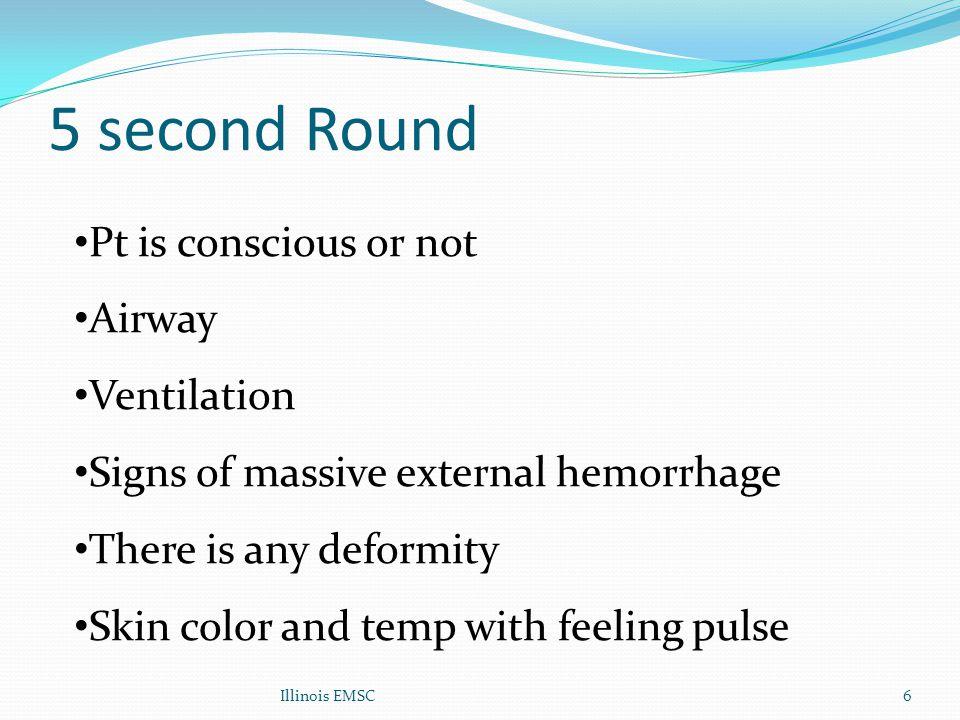 Hemorrhagic Shock Most common cause of shock in trauma External vs Internal hemorrhag Blood volume = 7% of BW Rx : Volume replacement Shock classification