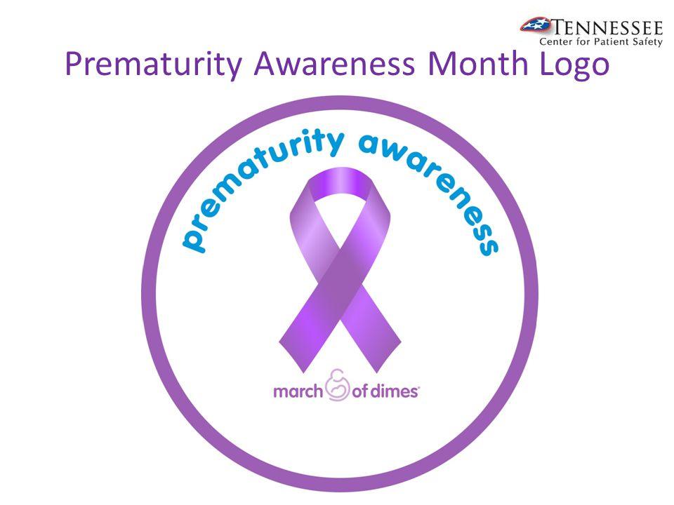 Prematurity Awareness Month Logo