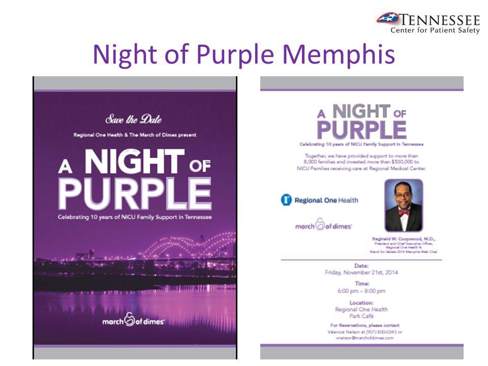 Night of Purple Memphis
