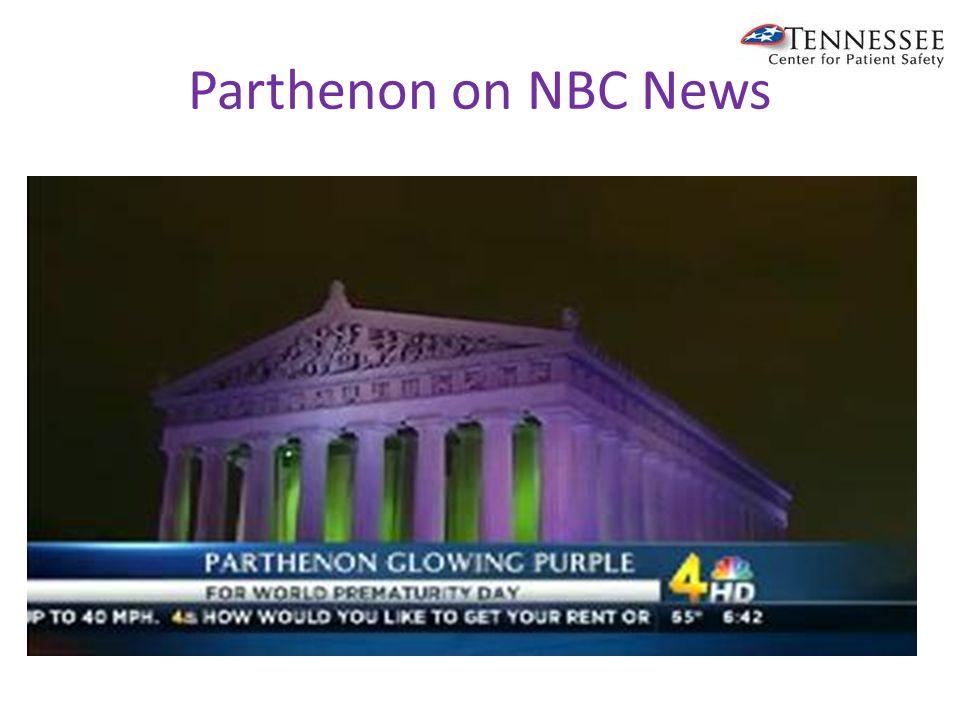 Parthenon on NBC News
