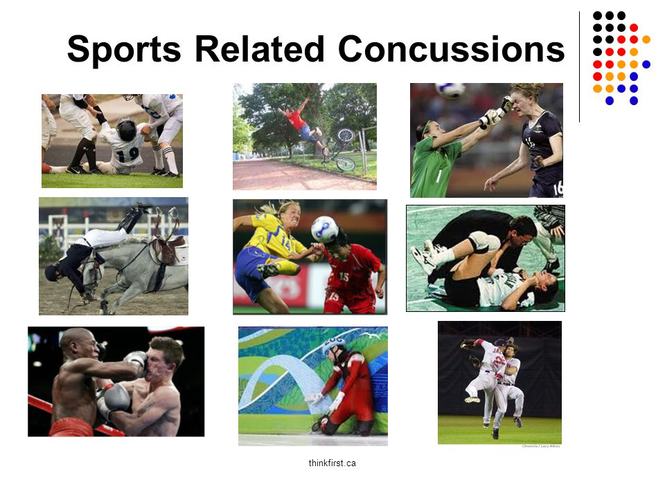 Sports Related Concussions thinkfirst.ca