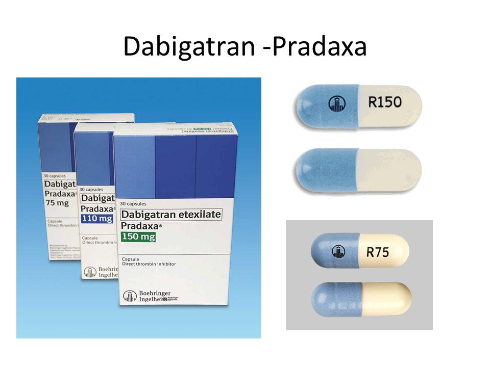 Dabigatran -Pradaxa