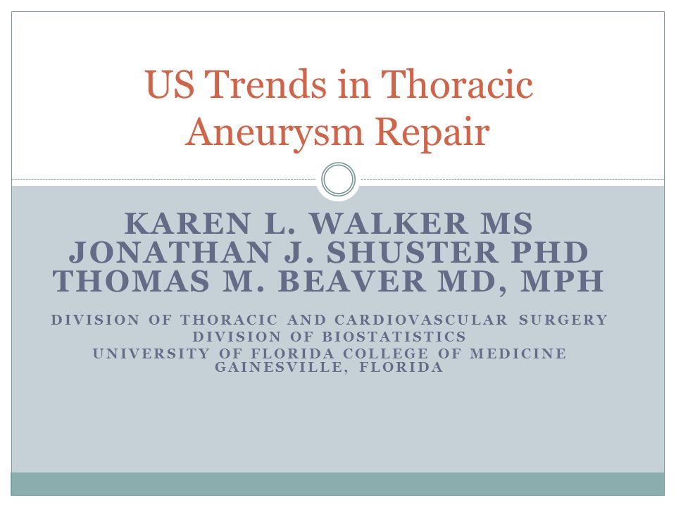 Conclusions TEVAR has been rapidly adopted in the US resulting in increased treatment of thoracic aortic aneurysms.