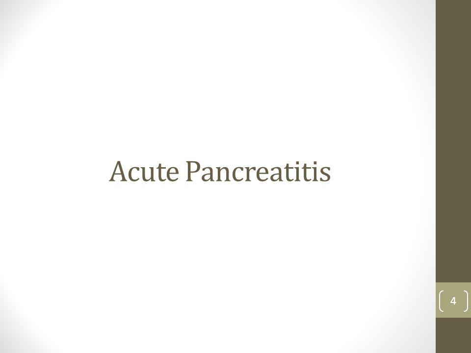 Acute Pancreatitis 4