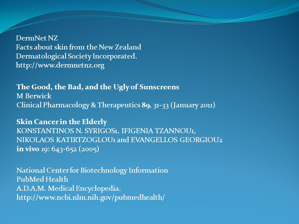 DermNet NZ Facts about skin from the New Zealand Dermatological Society Incorporated.