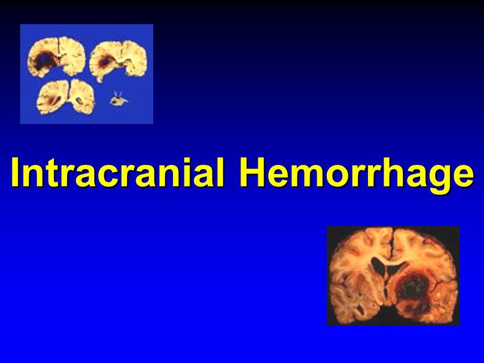 Intracranial Hemorrhage