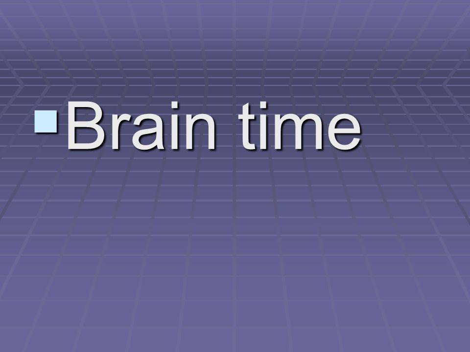  Brain time